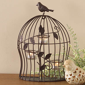 Bird Cage Tealight Holder