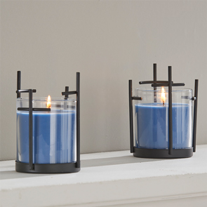 Cross Candle Holder Set