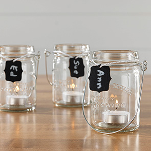 Hanging Jar Tealight Set/3