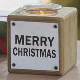 Merry Christmas Tealight Block