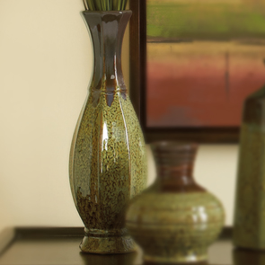 Jade Collection, Tall Vase