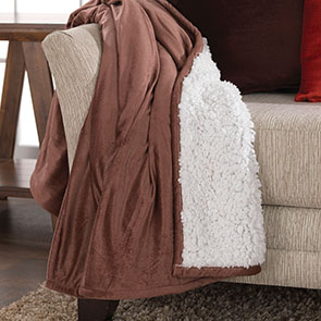 Velvet Throw, Brown