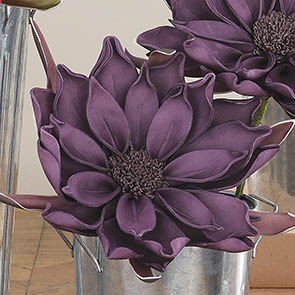 Brilliant Floral Stem, Purple