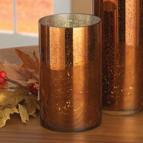Short LED Cylinder, Copper