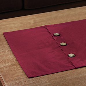 Button Collection Runner, Red
