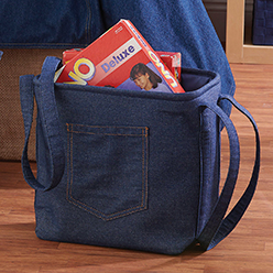 Blue Jean Tote, Small
