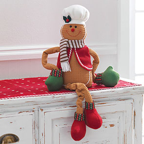 Gingerbread Shelf Sitter