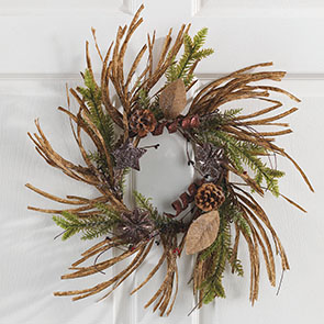 Rustic Pine Wreath