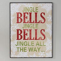 Jingle Bells Sign