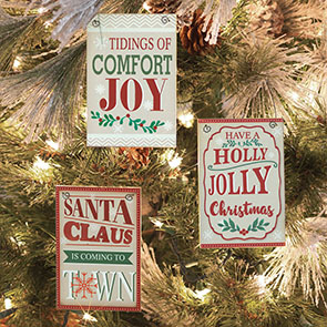 Christmas Sign Set