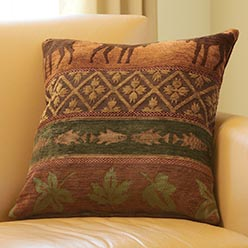 Winter Lodge Pillow Cover