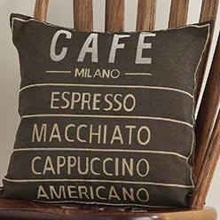 Café Pillow Cover