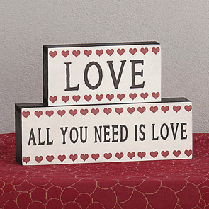 Love is All you Need Block