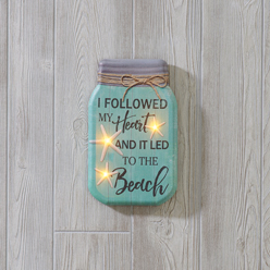 I Followed my Heart LED Print
