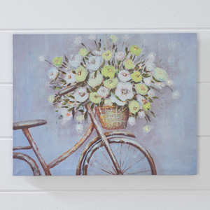 Basket of Flowers LED Print