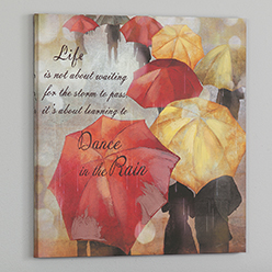 Dancing in the Rain Print