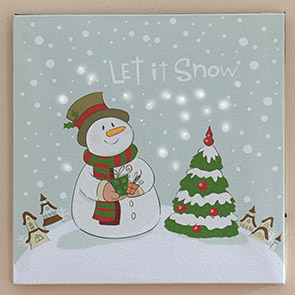 Let It Snow LED Insert