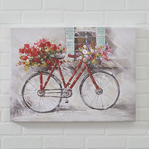 Red Bicycle Print