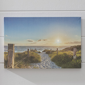 Beach Walk LED Print