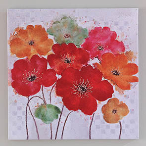 Colorful Poppies Print