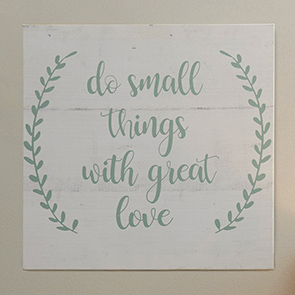 Do Small Things Print