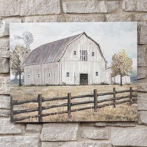 Barn in the Pasture Print