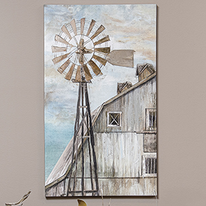 Windmill Breezes Print