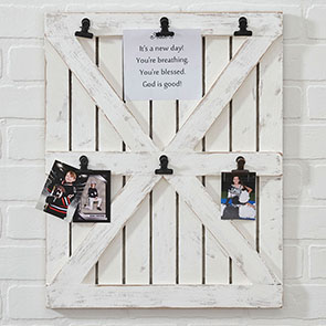 Barn Door Photo Clipboard