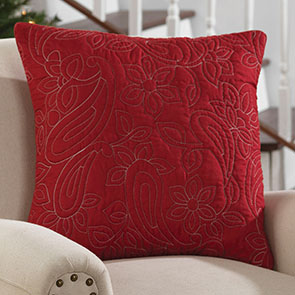 Christie Quilted Pillow Cover