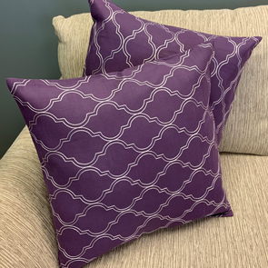 Diamond Pillow Cover Set/2