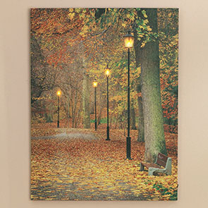 Fall in the Park LED Print