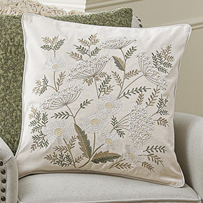 Delicate Flowers Pillow Cover