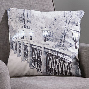 Lamplight LED Pillow Cover