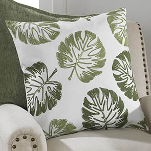 Large Leaf Pillow Cover