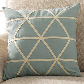 """Ray of Light Pillow Cover, Teal"""