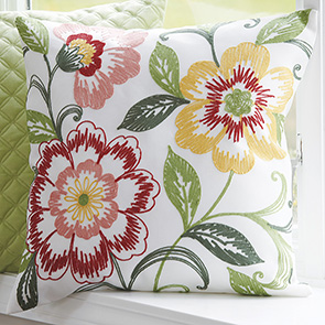 Floral Bunch Pillow Cover