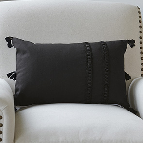 Corner Tassel Pillow Cover