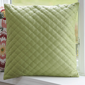 Quilted Diamond Pillow Cover