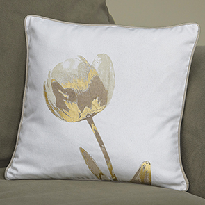 Modern Tulips Pillow Cover