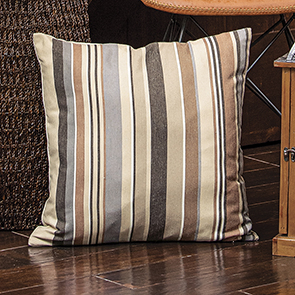 Neutral Stripe Pillow Cover