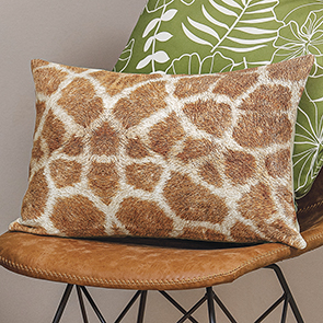 Giraffe Spots Pillow Cover