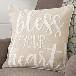 Bless Your Heart Pillow Cover