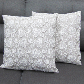 Lacy Pillow Cover Set