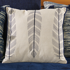Feather Pillow Cover