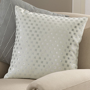 Silver Boxes Pillow Cover