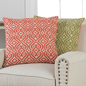 Melissa Reversible Pillow Cover