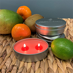 Tropical Nectar Candle Tin Set/3