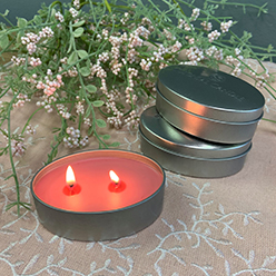 Wild Iris Candle Tin Set/3
