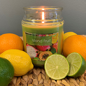 Island Fruit Jar Candle