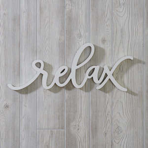 Relax Wall Décor